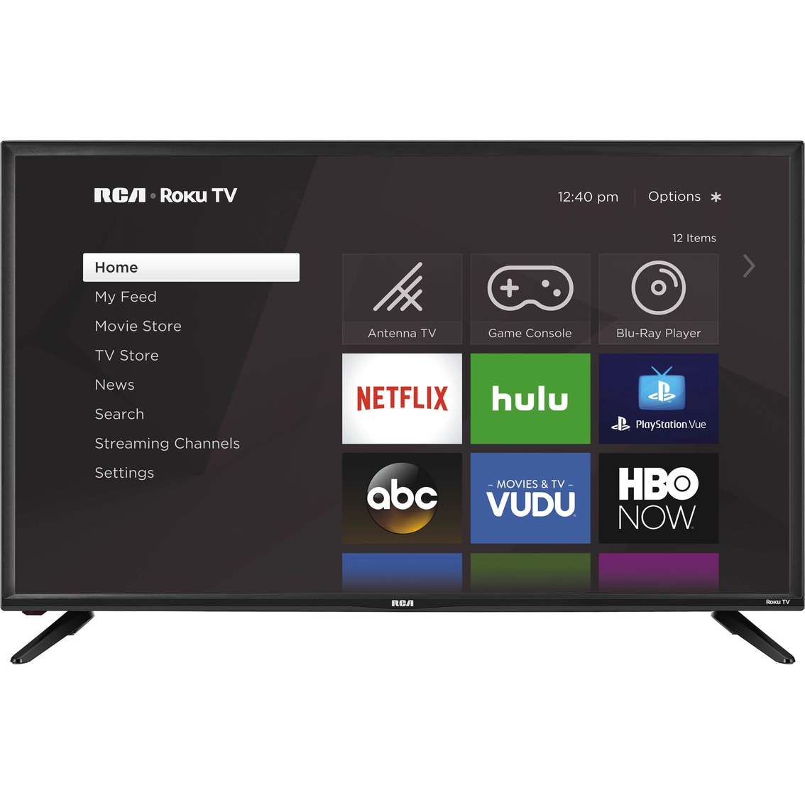 7928457fefb Rca 40 In. 1080p Led Roku Smart Tv Rtr4060-us