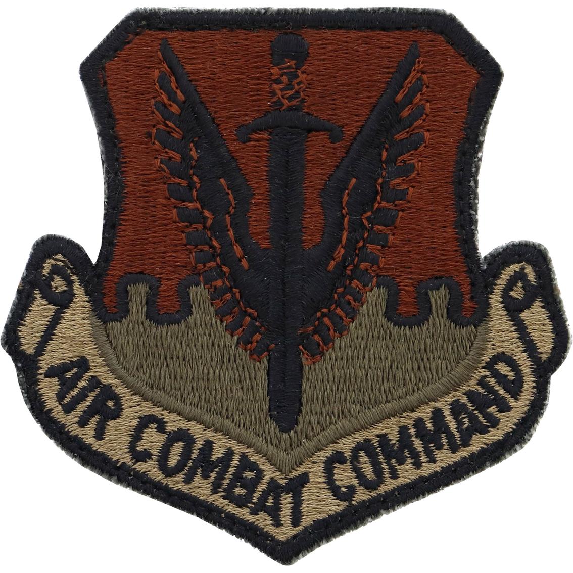 Air Force Patch Air Combat Command Velcro (ocp)   Uniform