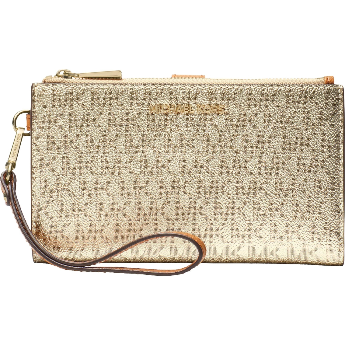 6651515a0820f4 Michael Kors Double Zip Wristlet | Wristlets, Clutches | Handbags ...