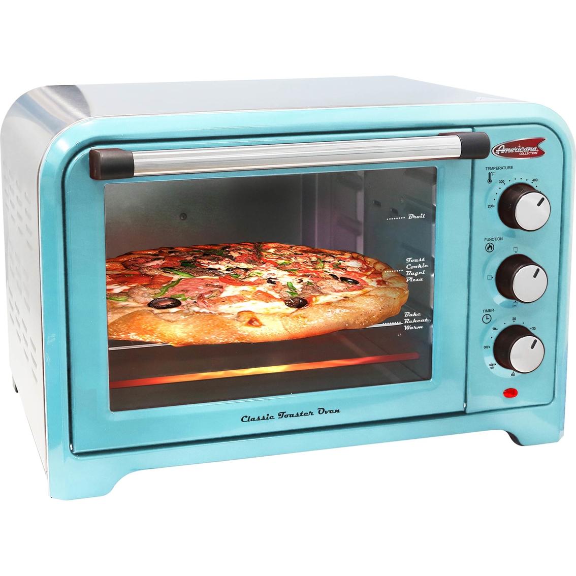 Elite Americana Ero-2600 6 Slice Retro Toaster Oven
