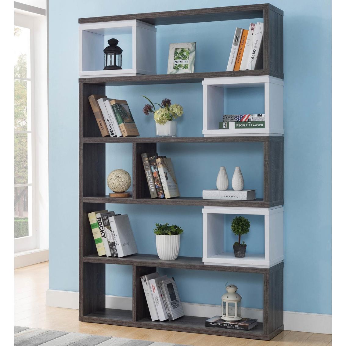 Furniture Of America Ada Wall Unit Bookcases Cabinets