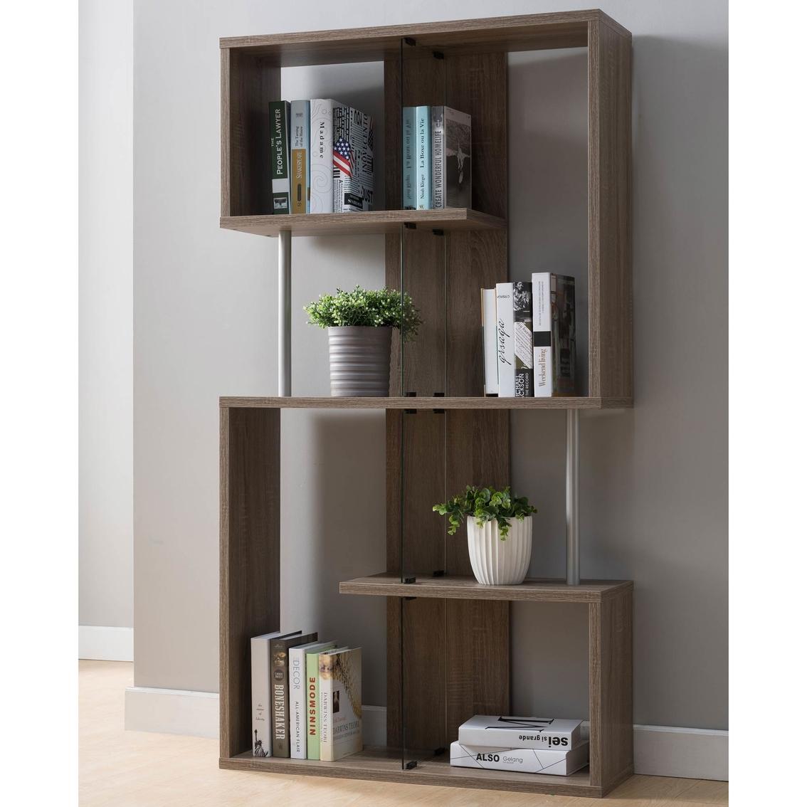 Furniture Of America Breedan Wall Unit Bookcases