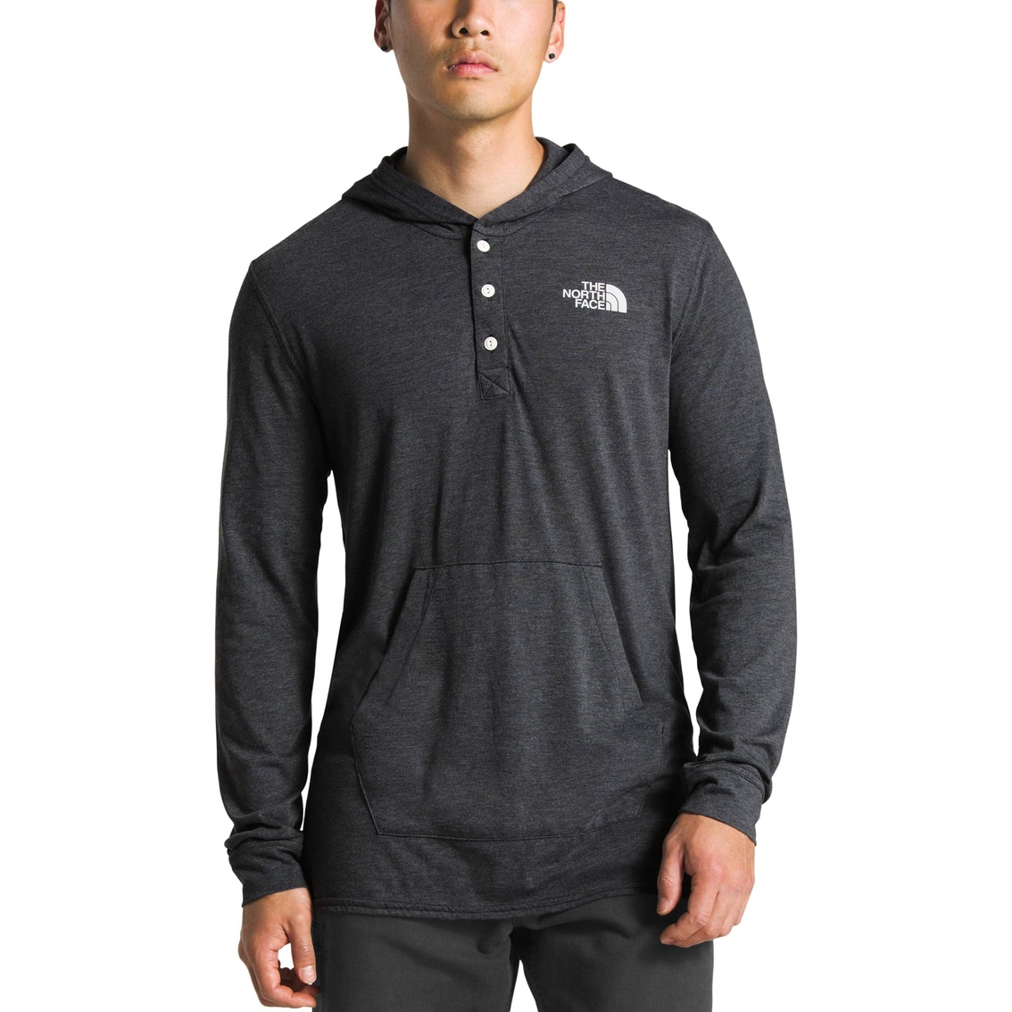 109b56bfe The North Face Tri-blend Henley Hoodie | Sweatshirts & Hoodies ...