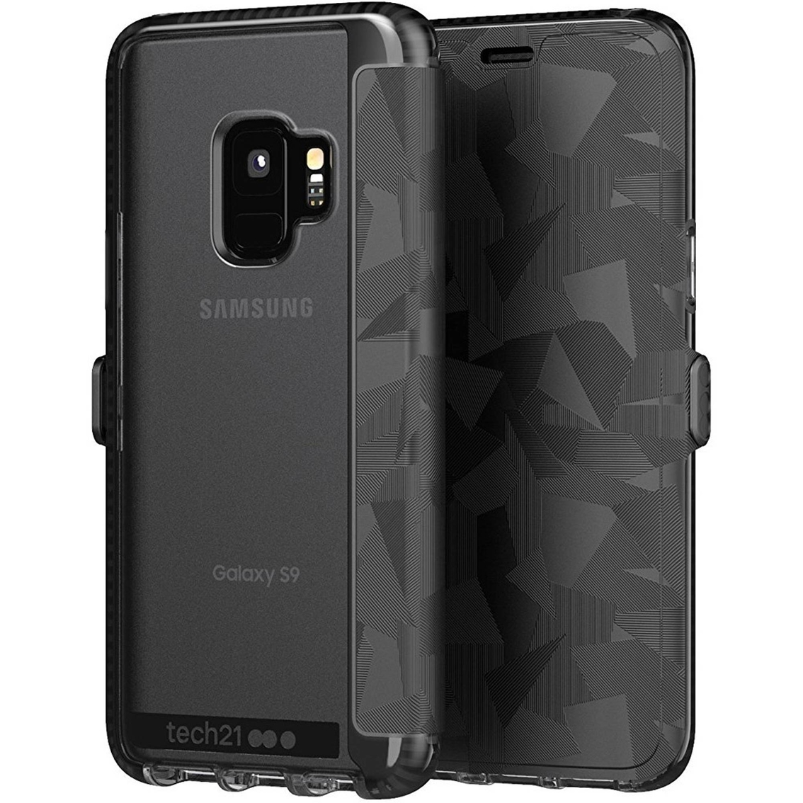 huge discount abe34 996f1 Tech21 Evo Wallet Samsung Galaxy S9 Case | Cell Phone Cases ...