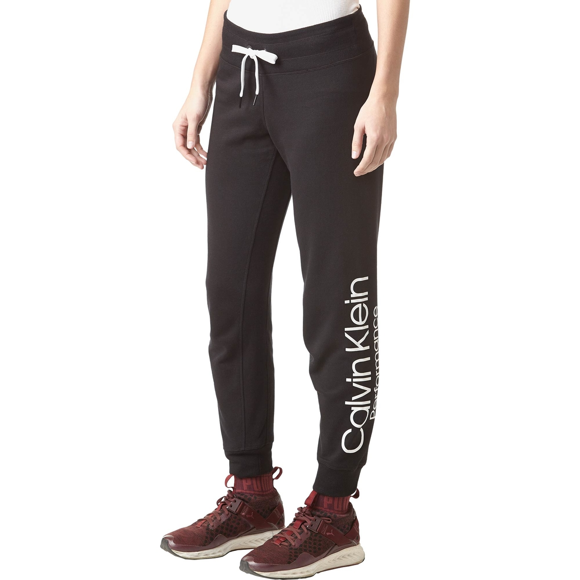 0bdeb8a8c28a Calvin Klein Rib Waistband Jogger Pants