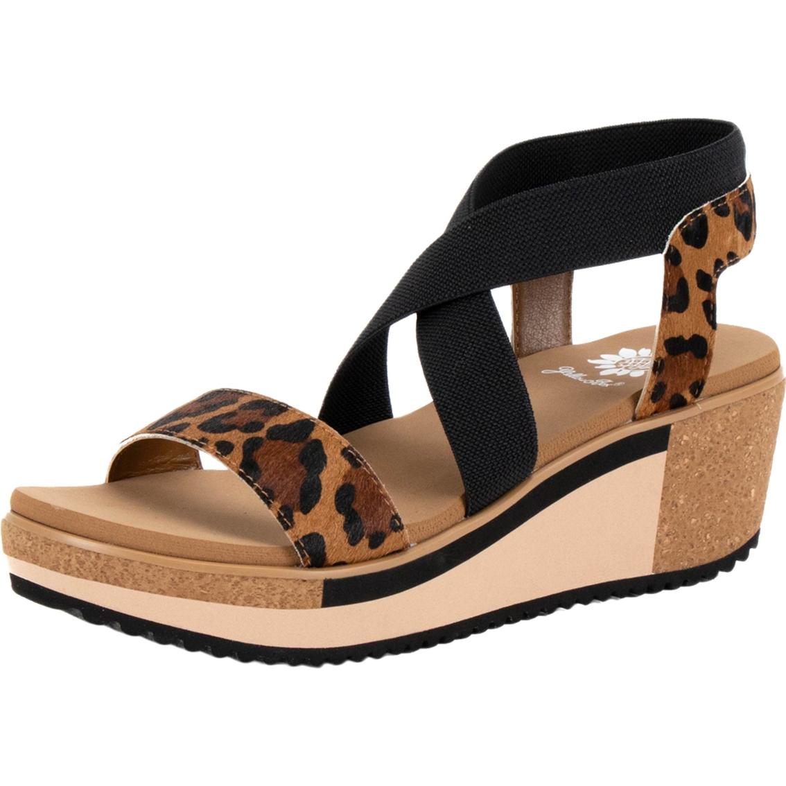 653ef78c4534 Yellow Box Janalee Strappy Wedge Sandals