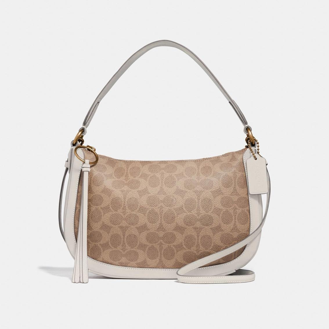 5246b1151559 Coach Sutton Signature Coated Canvas Crossbody Handbag