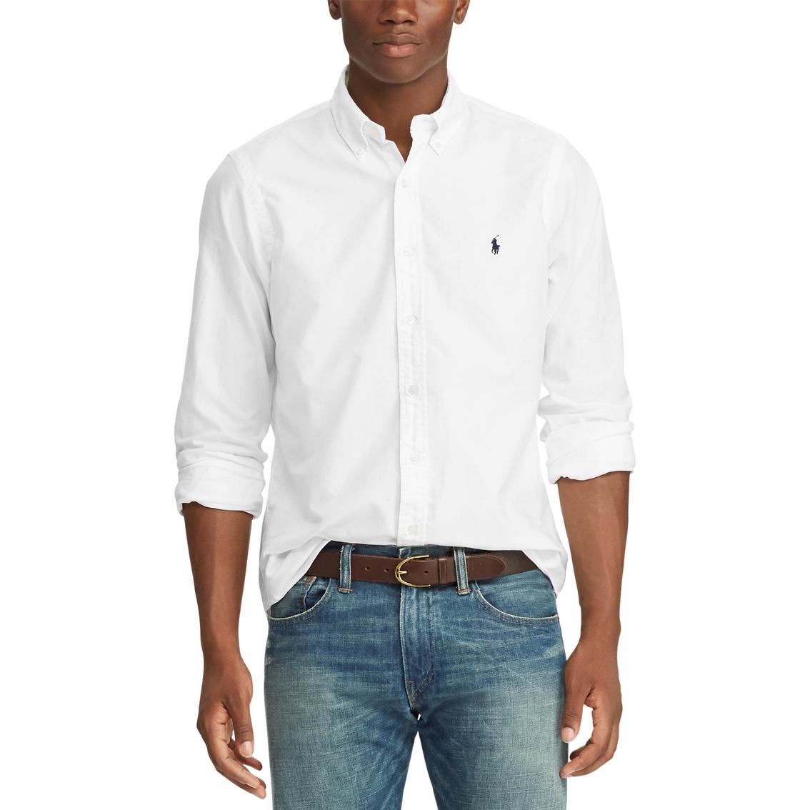 6cd8c8b6 Polo Ralph Lauren Classic Fit Oxford Shirt | Casual | Apparel | Shop ...
