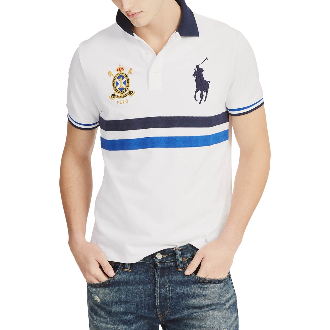 36c1e7bf3b7e Polo Ralph Lauren Classic Fit Mesh Polo Shirt   Polos   Apparel ...