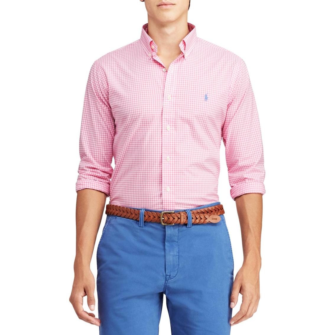 8ac452db Polo Ralph Lauren Classic Fit Gingham Shirt | Dress Shirts | Apparel ...