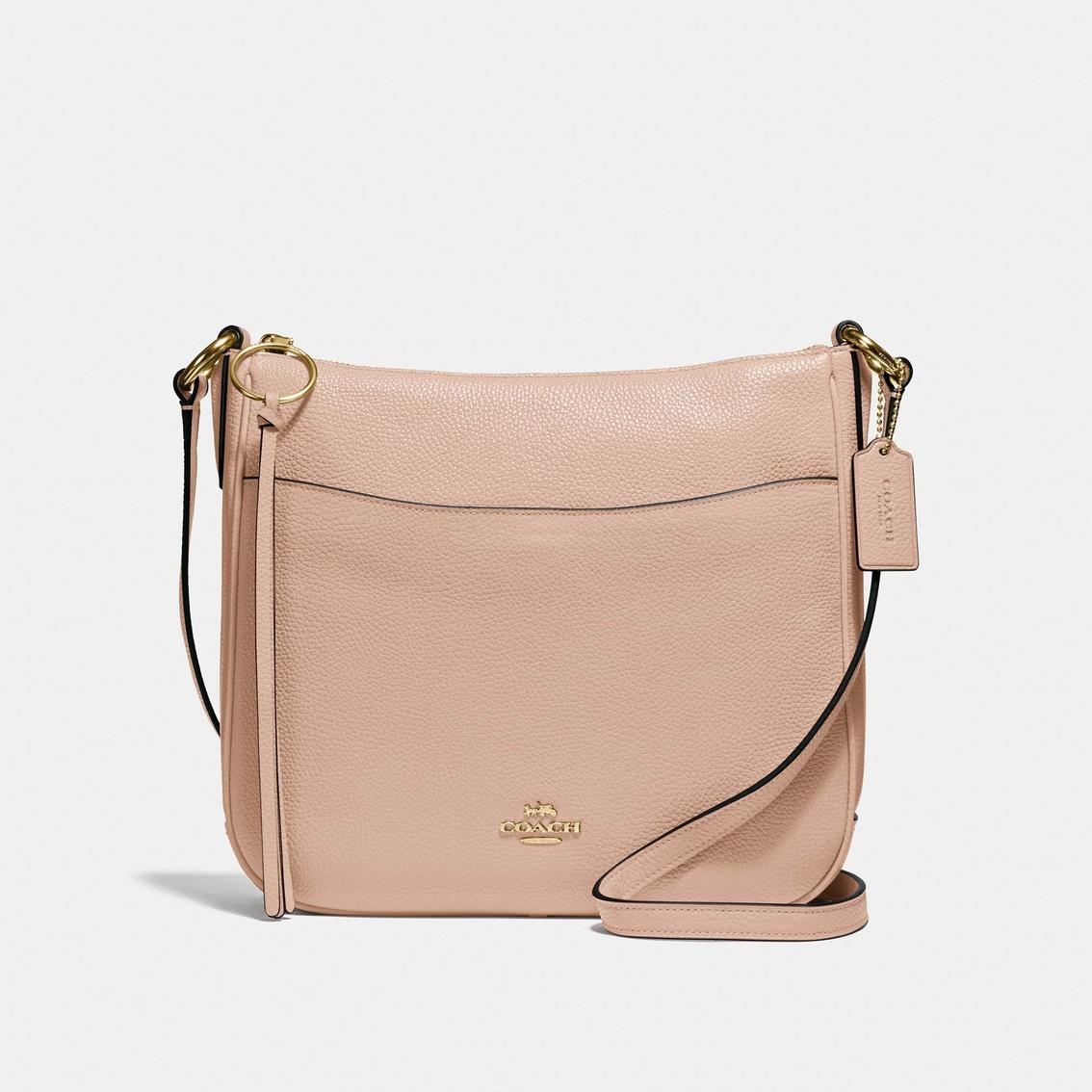 3d75afaa15 Coach Chaise Crossbody Pebble Leather Handbag