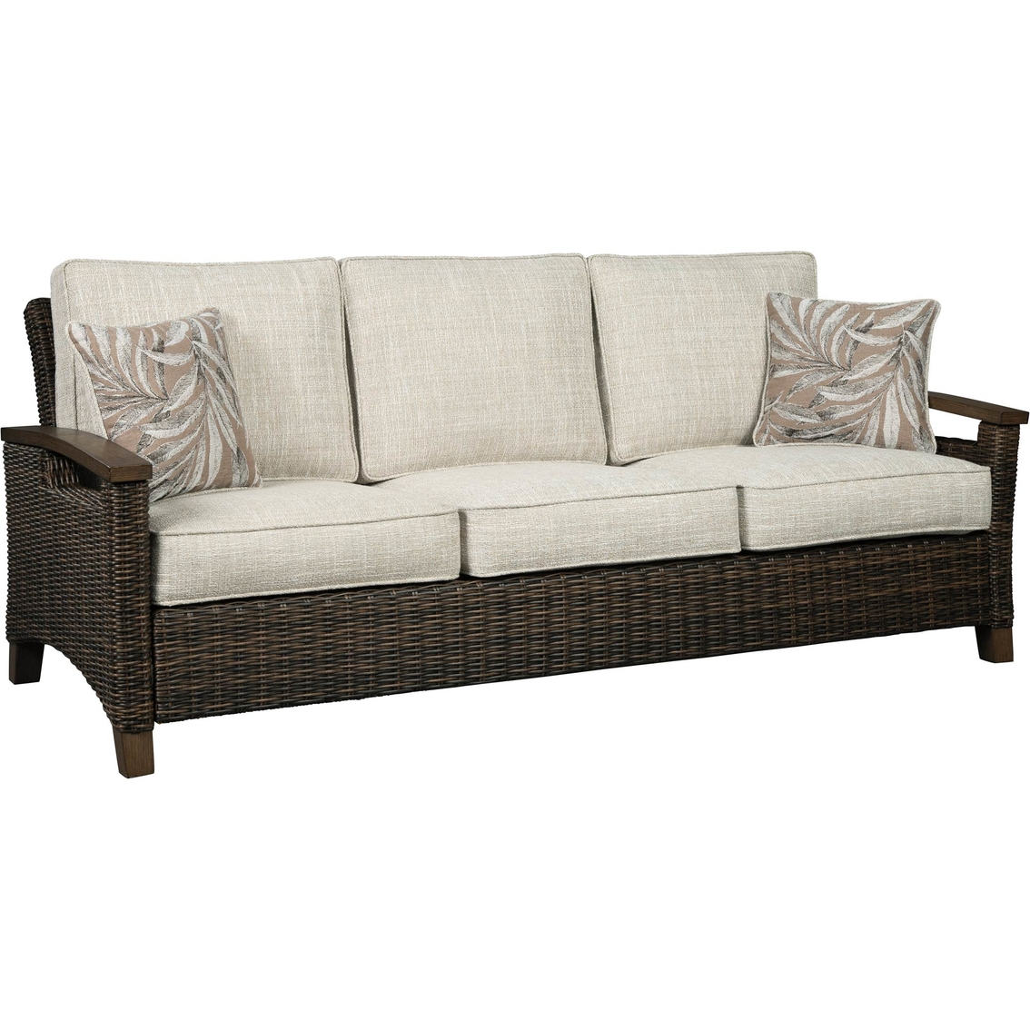 Phenomenal Ashley Paradise Trail Sofa Loveseat Cocktail Table And 2 Gmtry Best Dining Table And Chair Ideas Images Gmtryco