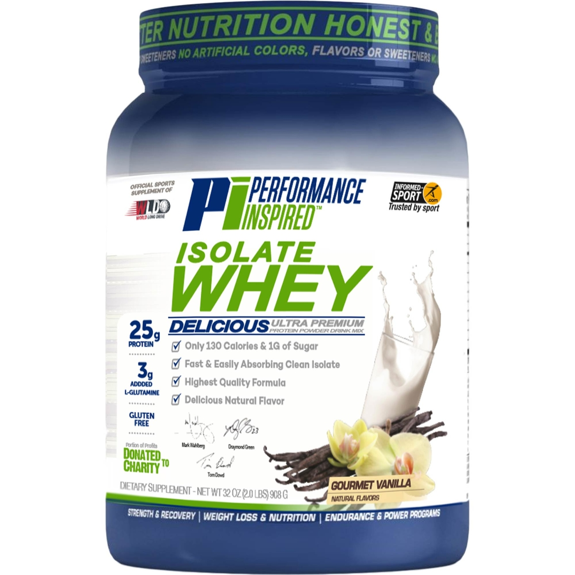 Performance Inspired Isolate Whey Protein Powder Drink Mix