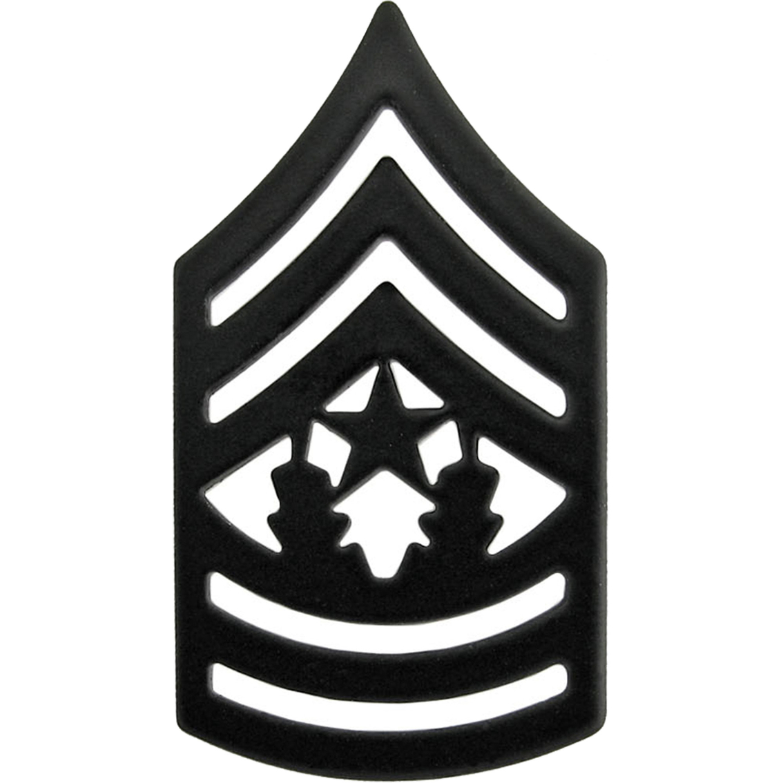 Army Csm Subdued Pin On Rank Subdued Pin On Rank