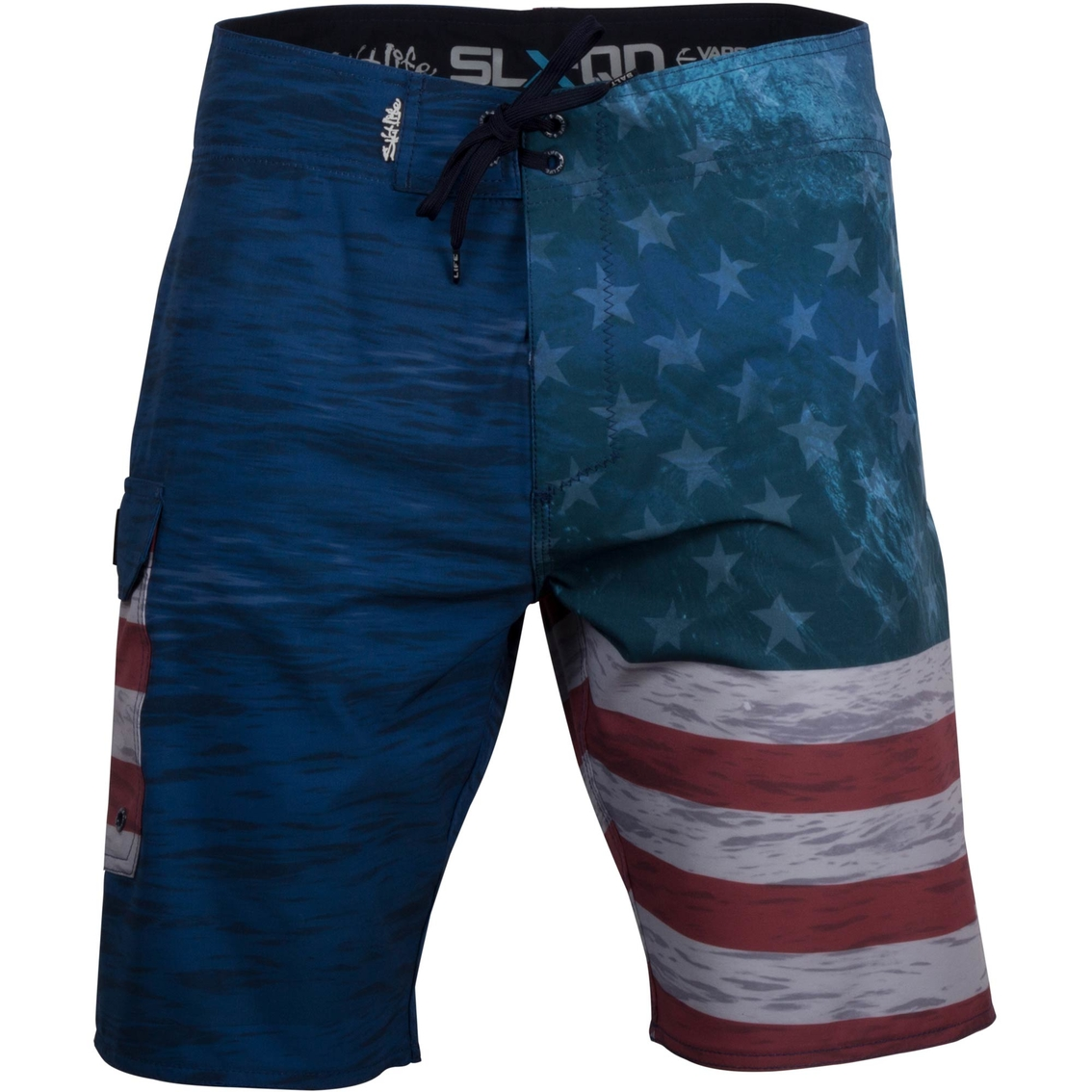 dffb509ab5 Salt Life Ameriseas Performance Aqua Trunk Board Shorts | Swimwear ...