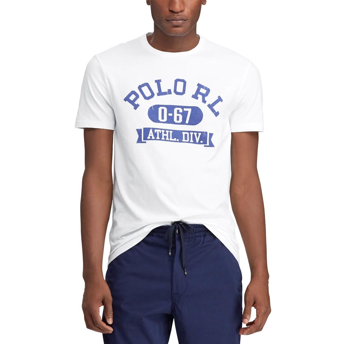 f53c484c0c Polo Ralph Lauren Custom Slim Fit Graphic Tee | T-shirts | Apparel ...