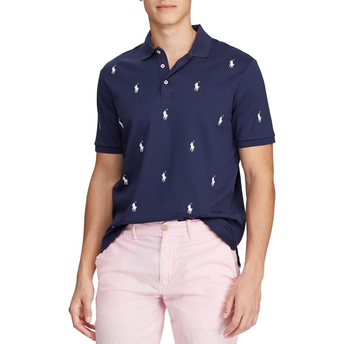 a1cc1bc5 Polo Ralph Lauren Classic Fit Allover Pony Polo Shirt | Polos ...