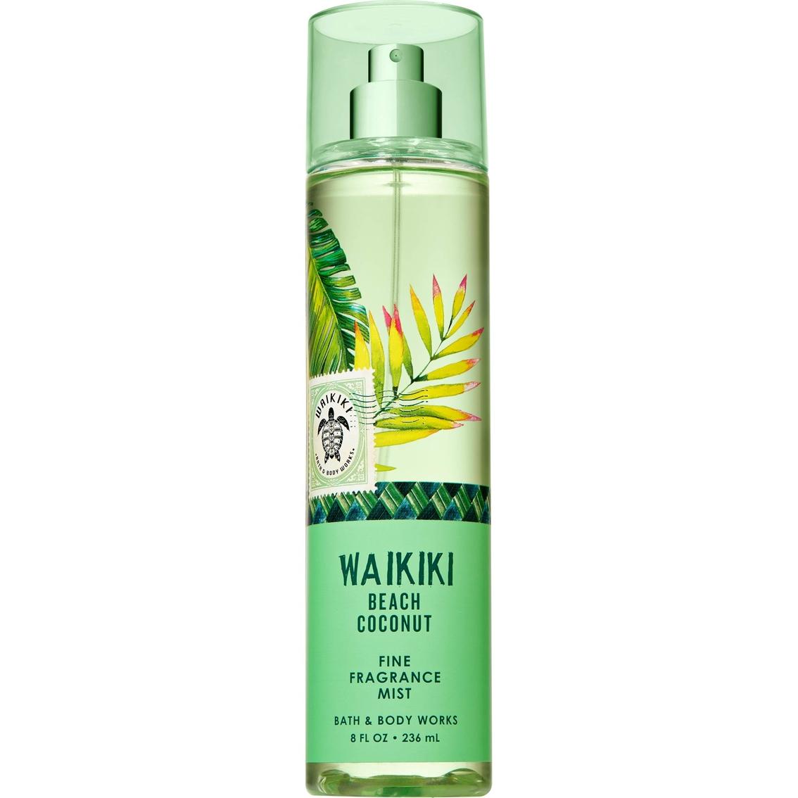 Bath Body Works Fine Fragrance Mist Waikiki Beach Coconut