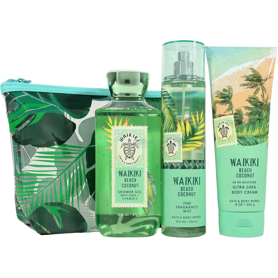 Bath Body Works Waikiki Beach Coconut Adventure Awaits 3
