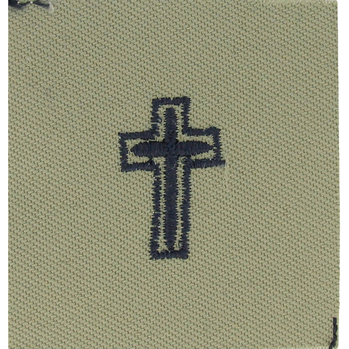 Air Force Chaplain Christian Badge Subdued Sew On Abu 1st - Air-force-occupational-badges