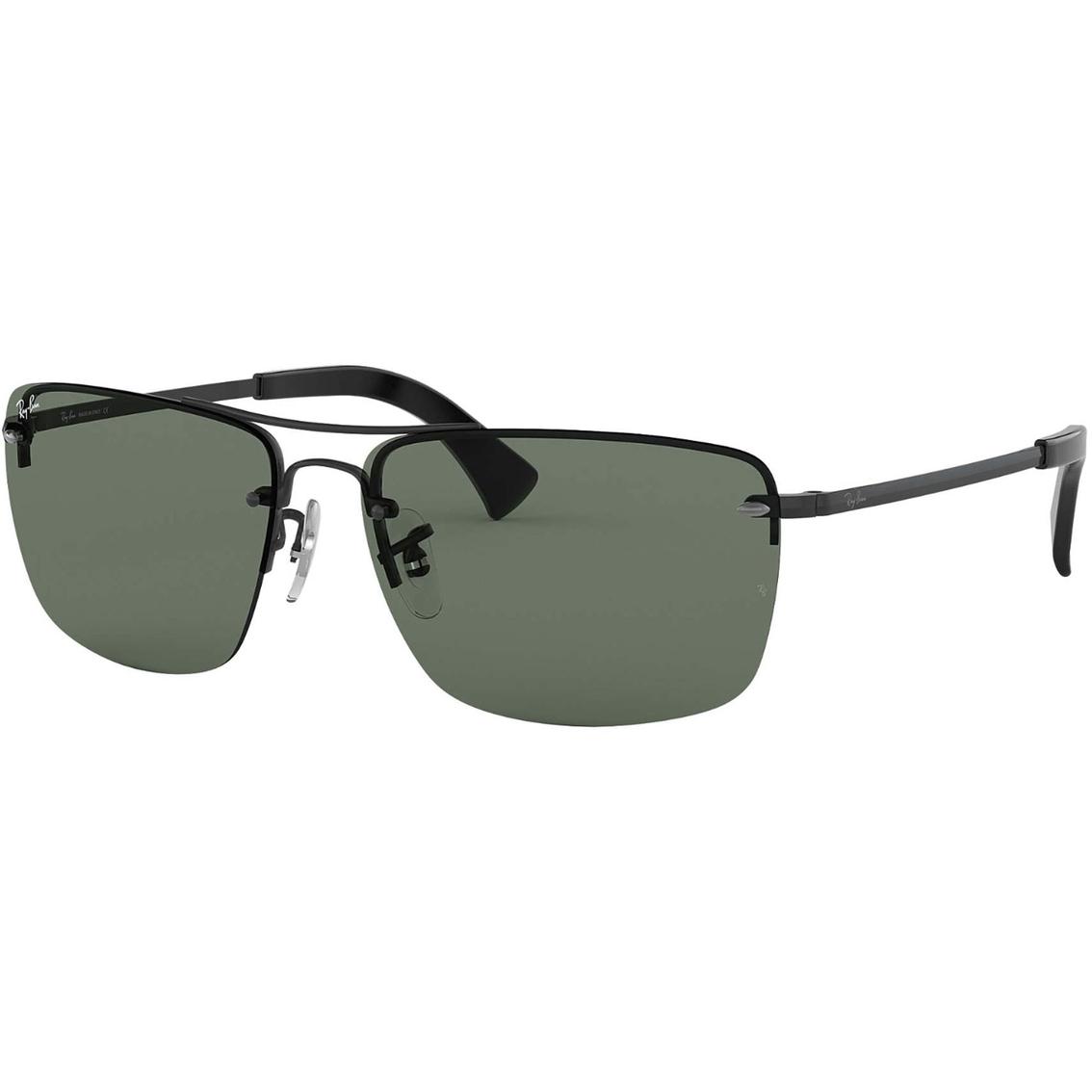 57ae1aa0d Ray Ban Rectangle Sunglasses 0rb360700271 | Men's Sunglasses ...