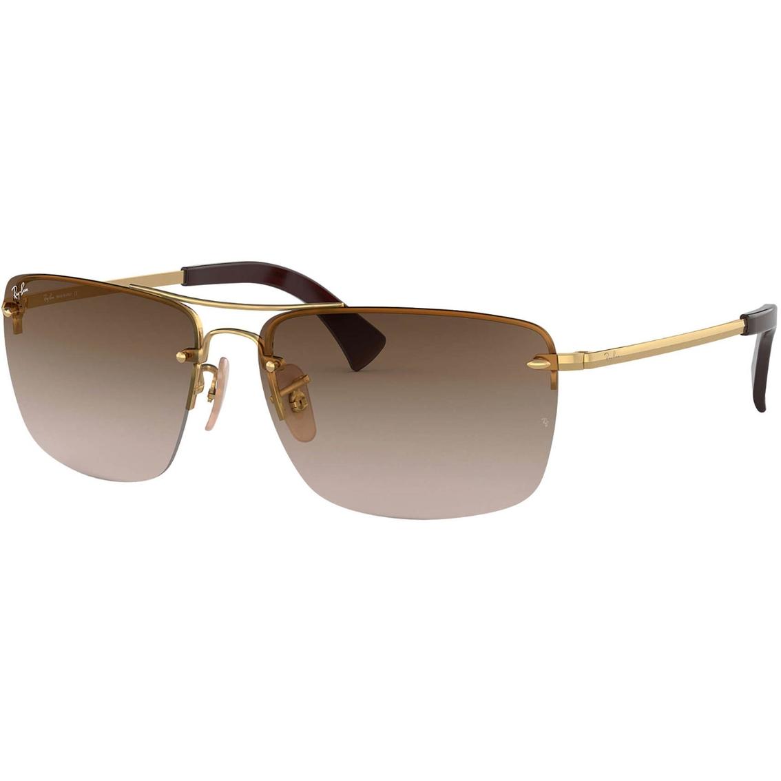 2b049c7ce25cc8 Ray Ban Rectangle Gradient Sunglasses 0rb360700113 | Men's ...