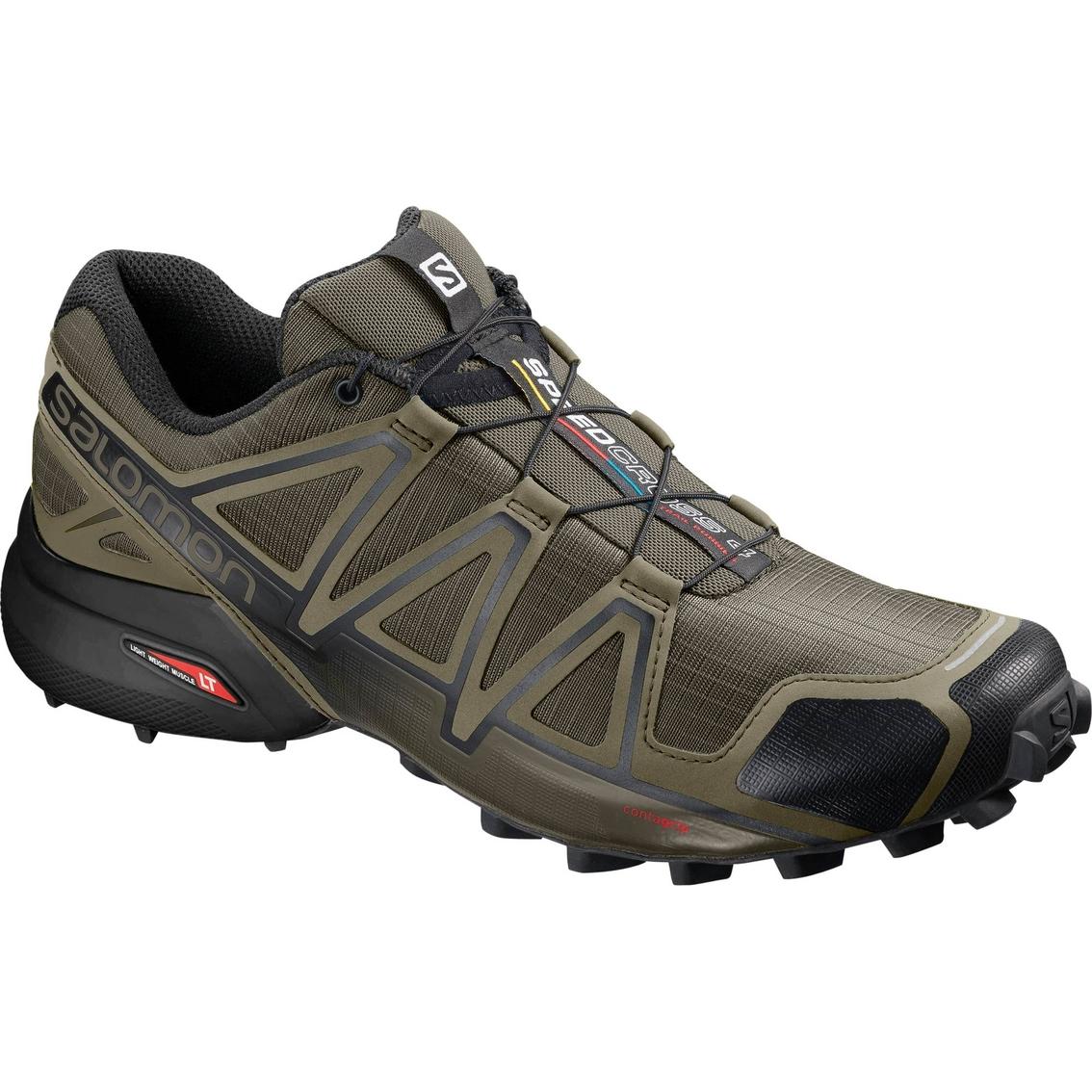 salomon cushioned trail shoes