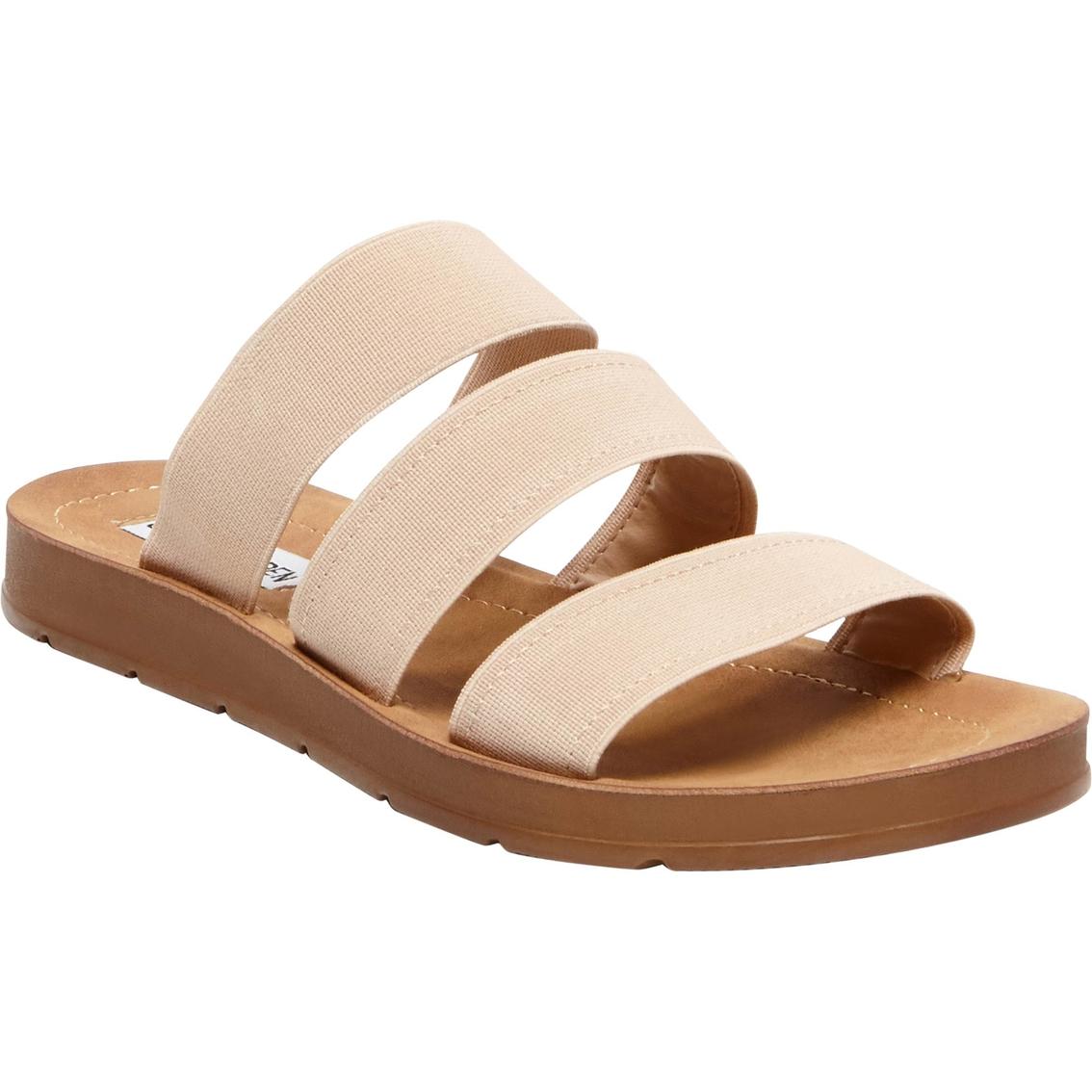 7abd8f1f36 Steve Madden Women's Pascale Three Band Flat Sandals | Flats | Shoes ...