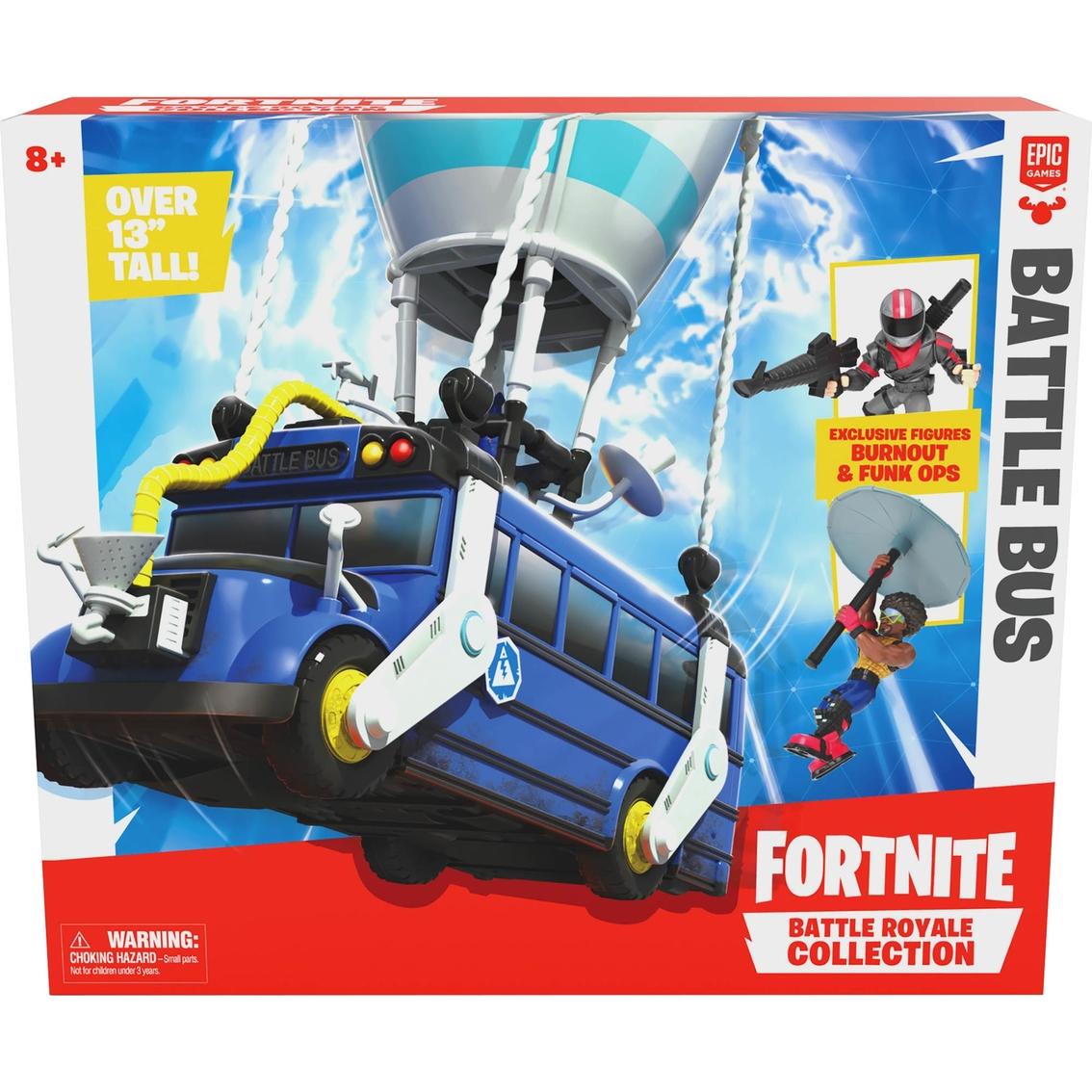 Fortnite Battle Royale Collection Battle Bus Action