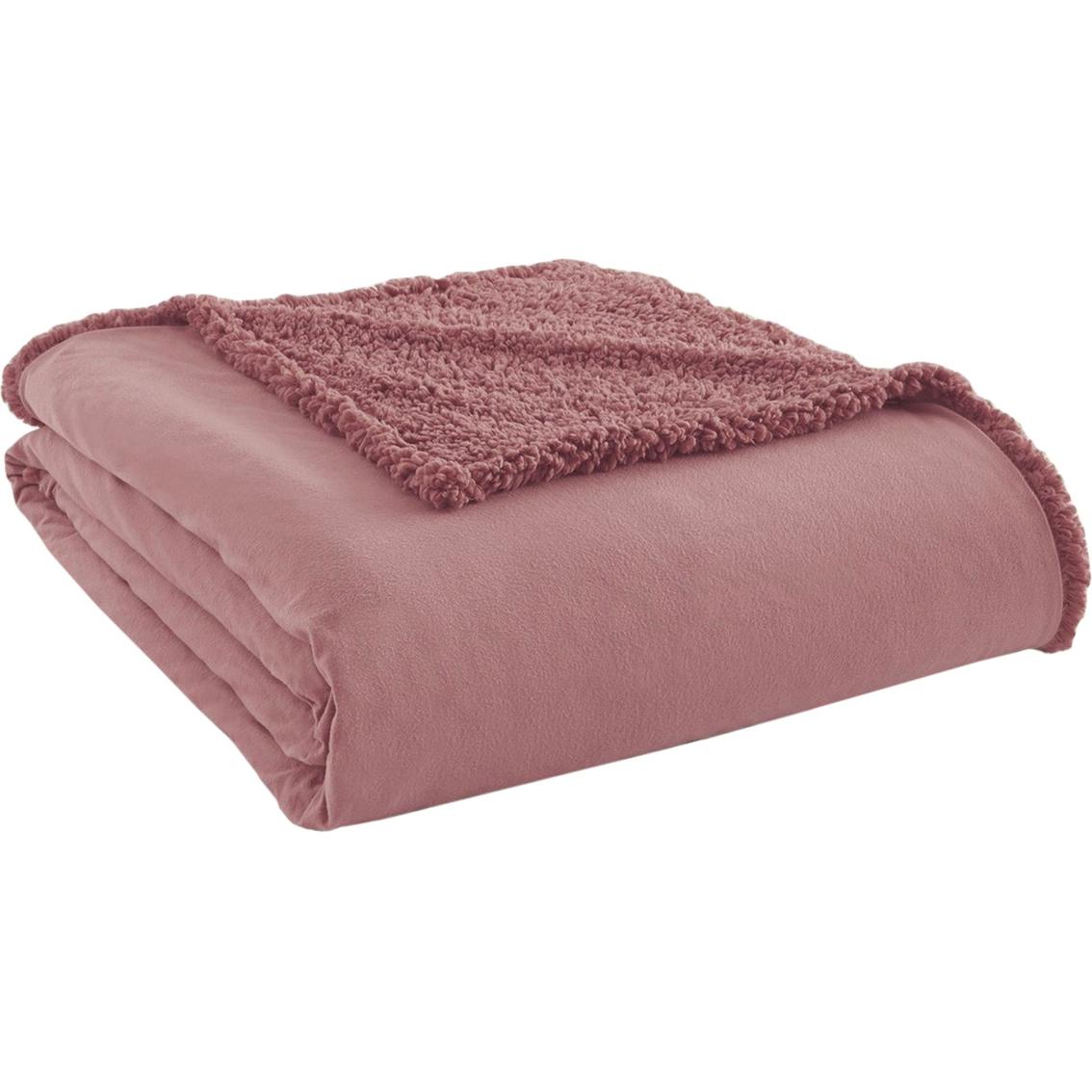 CLEARANCE Anti Pil Polar Fleece Fabric Material TOBACCO BROWN