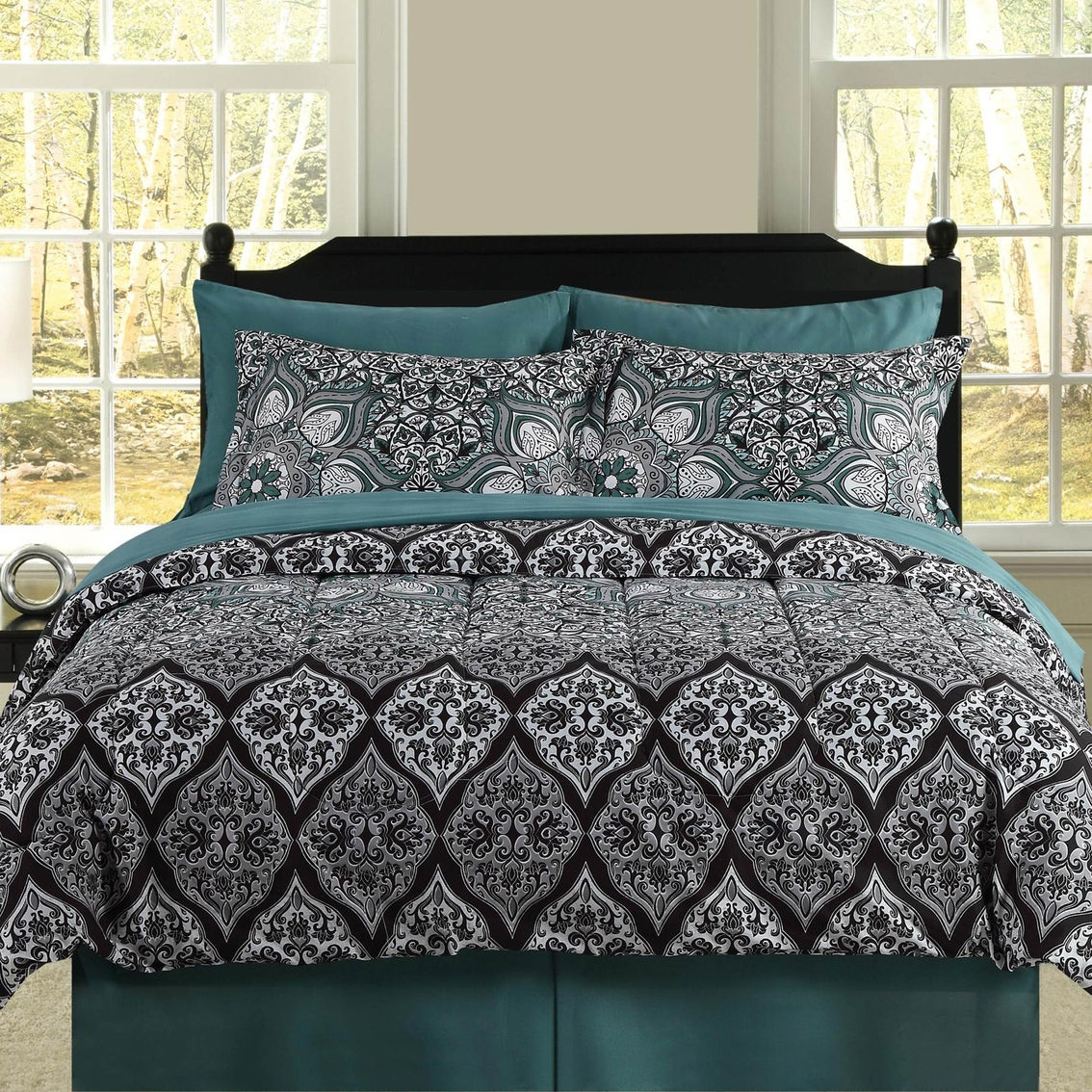 Cassandra Bed In A Bag Queen Bedding Sets Household Shop The Exchange