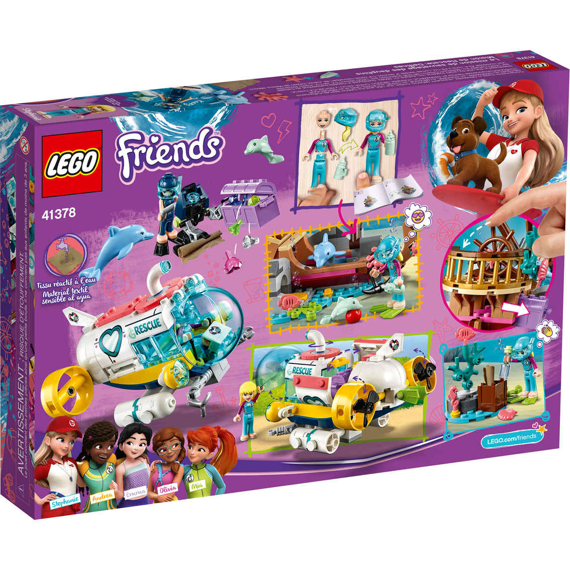 Lego Friends Dolphins Rescue Mission   Building Toys ...