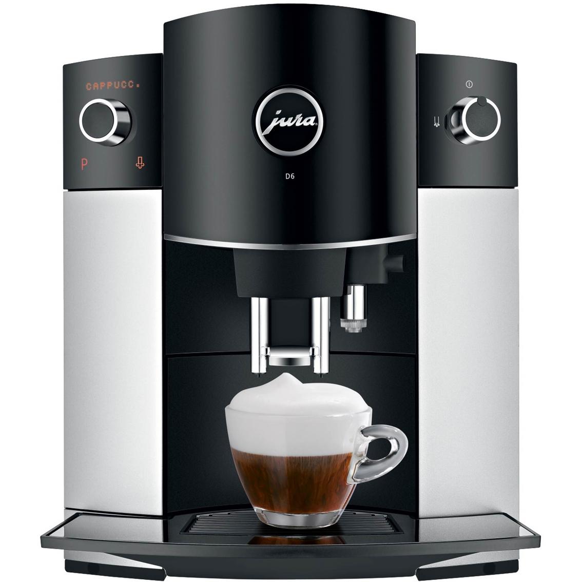 Jura D6 Platinum Automatic Coffee Maker   Drip ...