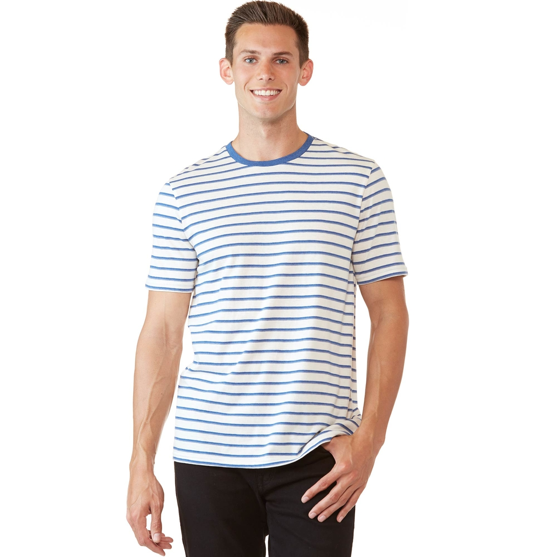 Union Jack Girl Short-Sleeve Crewneck Polyester T-Shirt,Classical Ele
