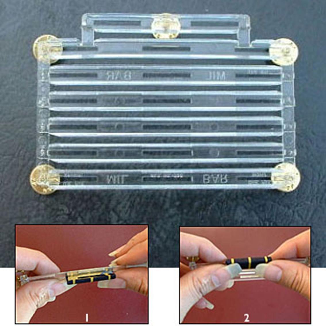 Ribbon zero space bar holder plastic