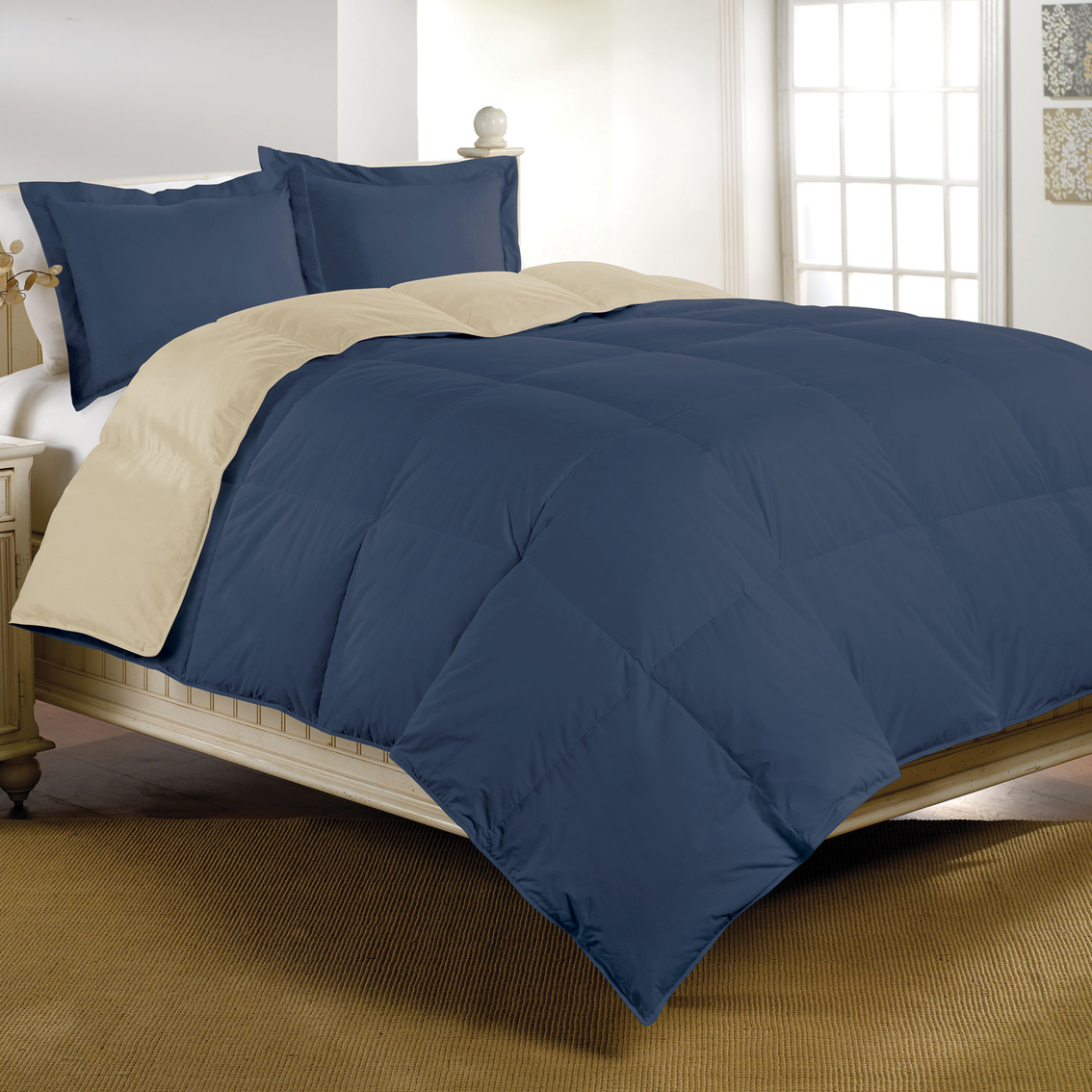 Basic Elements Down Alternative Comforter Bed Bath