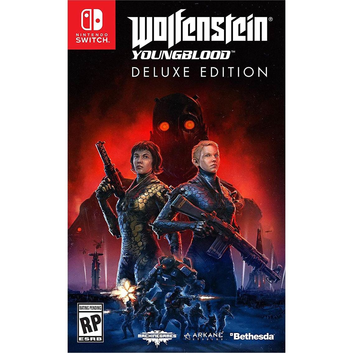 Wolfenstein Wedding Ring.Wolfenstein Youngblood Deluxe Edition Ns Nintendo Switch