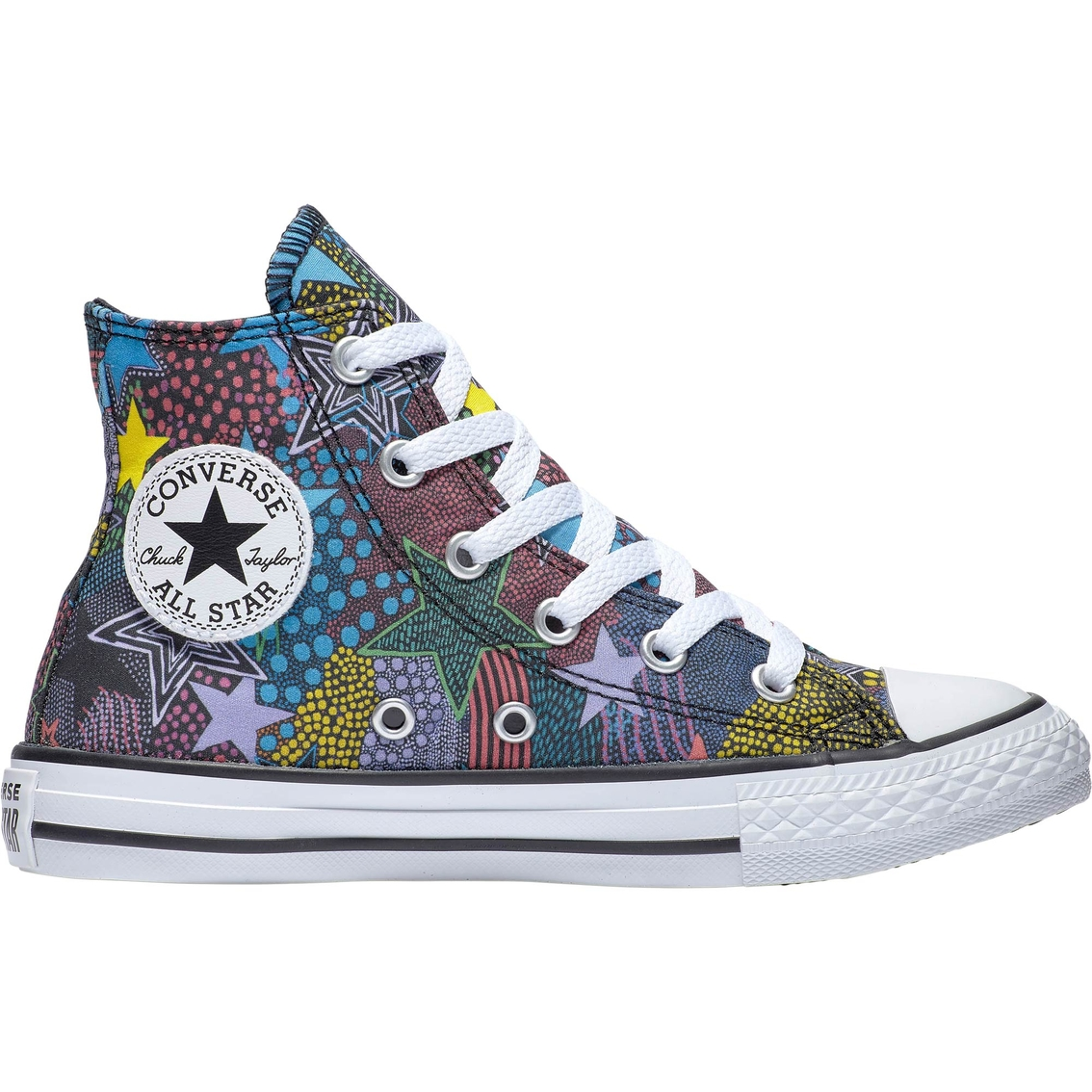 best authentic size 7 look good shoes sale Converse Girls Chuck Taylor All Star High Top Sneakers ...
