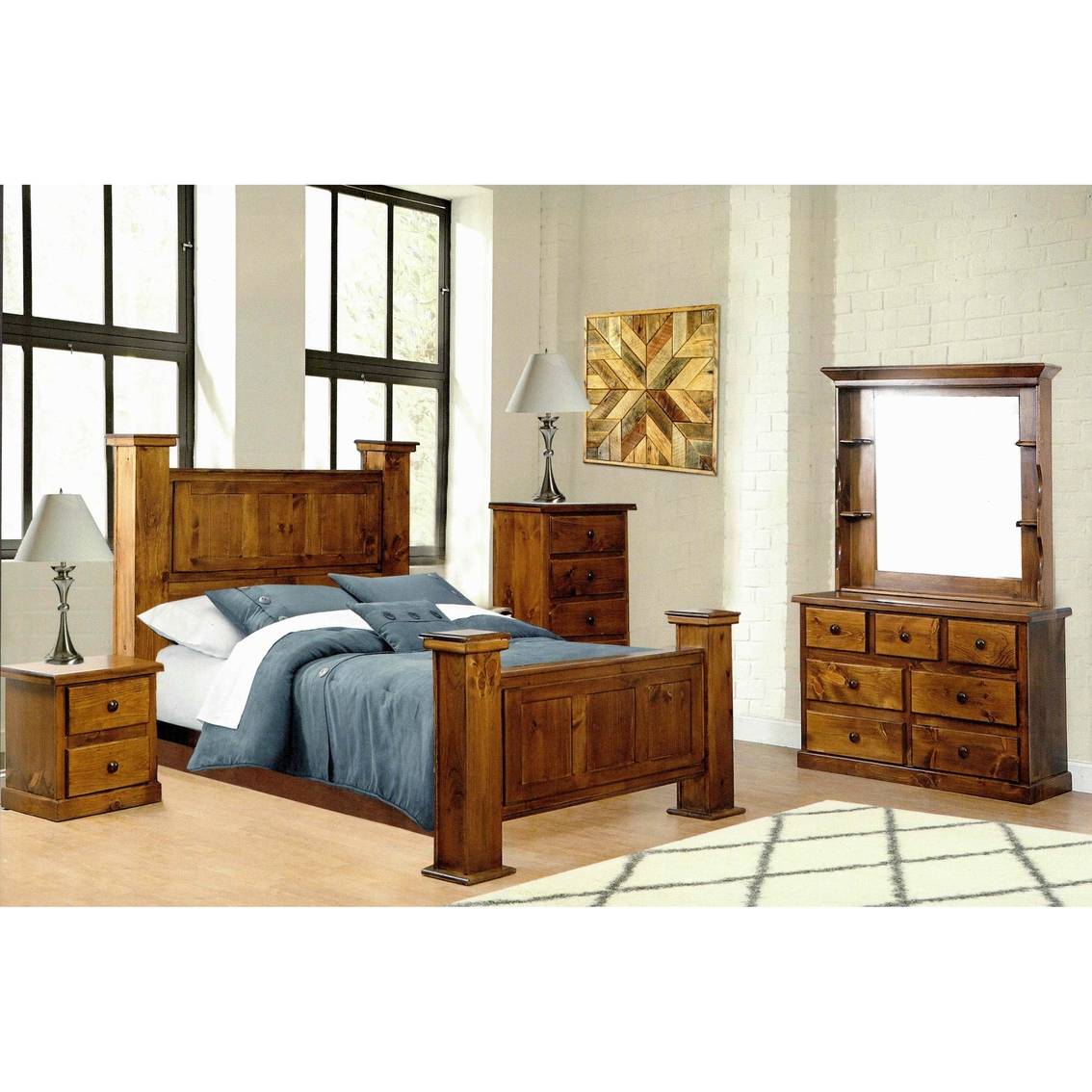 Chelsea Home Furniture Hide Away Gun Bed 5 Pc Set Bedroom Sets