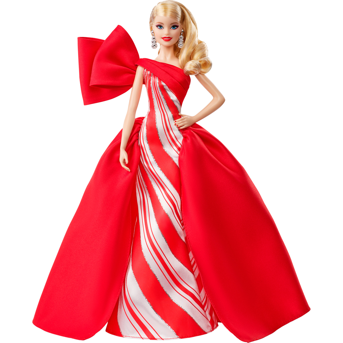 2019 Holiday Barbie Red and White Candy Color New For Holiday Season Blonde