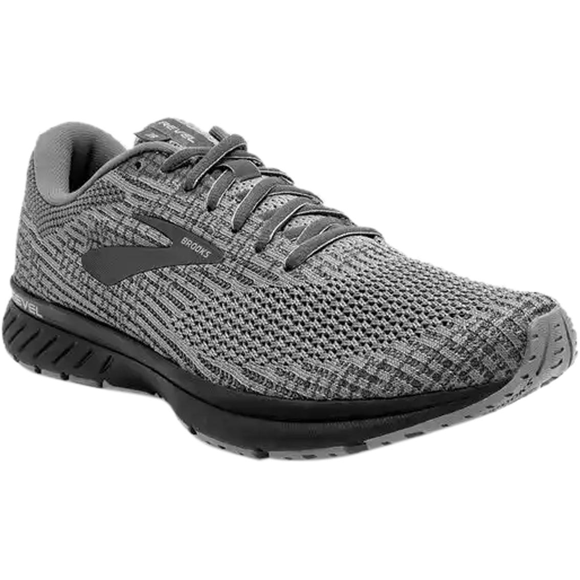 all black brooks men's shoes