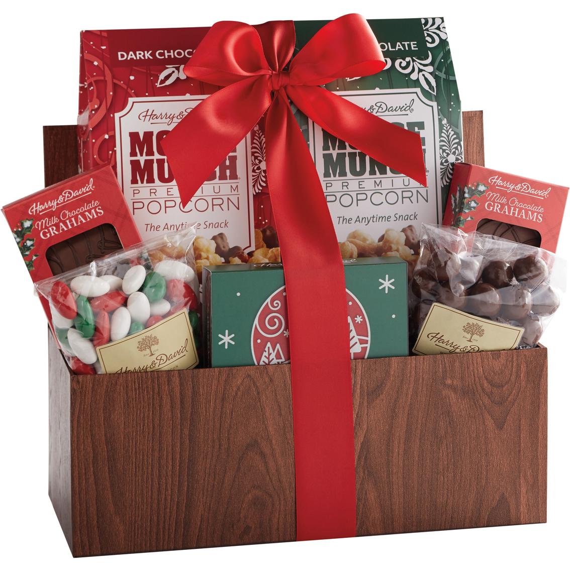 David Holiday Christmas Gift Basket