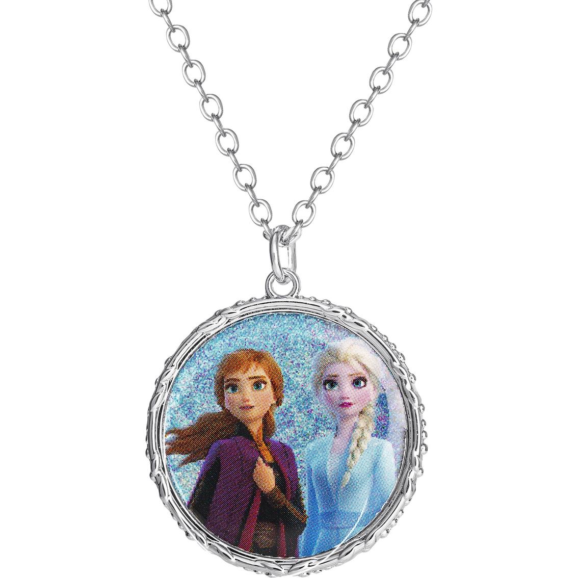 "2 x Disney Frozen Elsa /& Anna Princess 16/"" Pearl Necklace"