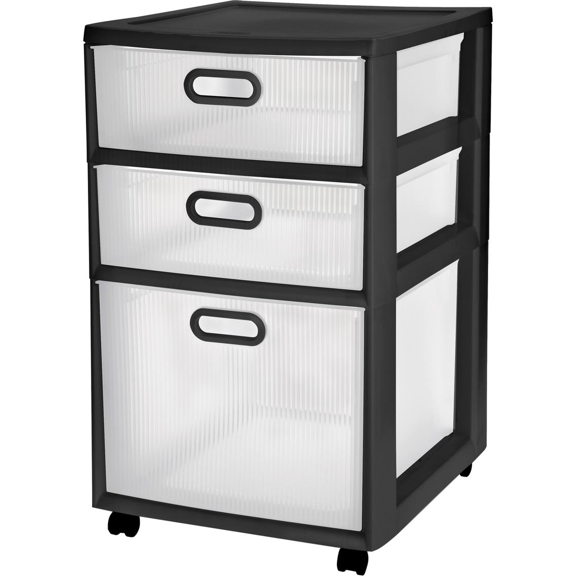 Sterilite 3 Drawer Ultra Cart Closet Organization Household Shop The Exchange