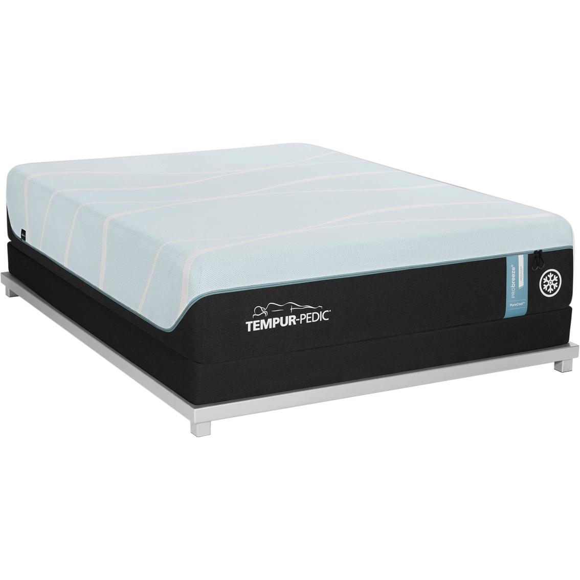 Tempur Memory Foam Mattress >> Tempur Pedic Tempur Probreeze Medium Memory Foam Mattress