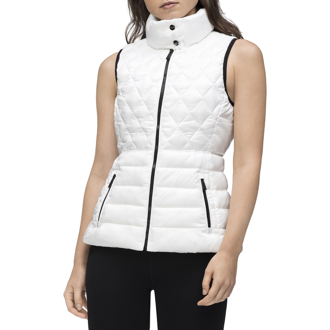Calvin Klein Performance Quilted Polyester Vest Vests