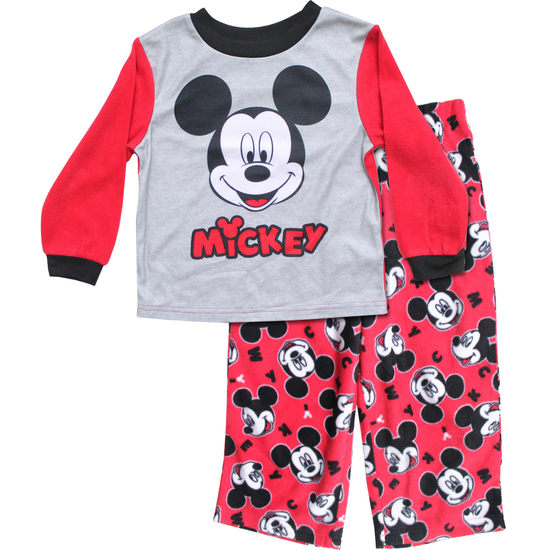 2T Toddler Boy/'s Pajamas Mickey Mouse 2-Piece Set Shirt and Shorts Cool Moves