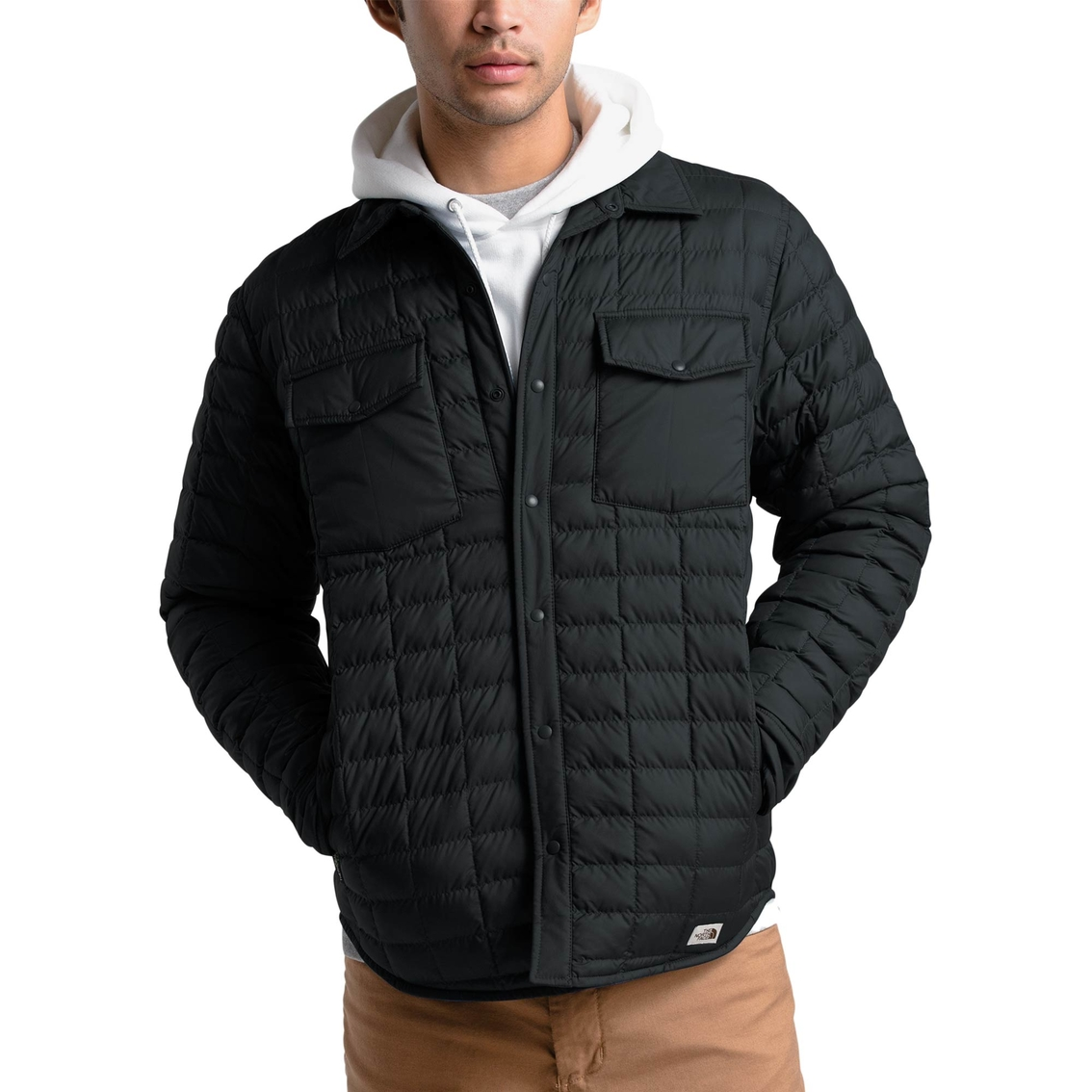 The North Face Thermoball Snap Jacket Jackets Apparel