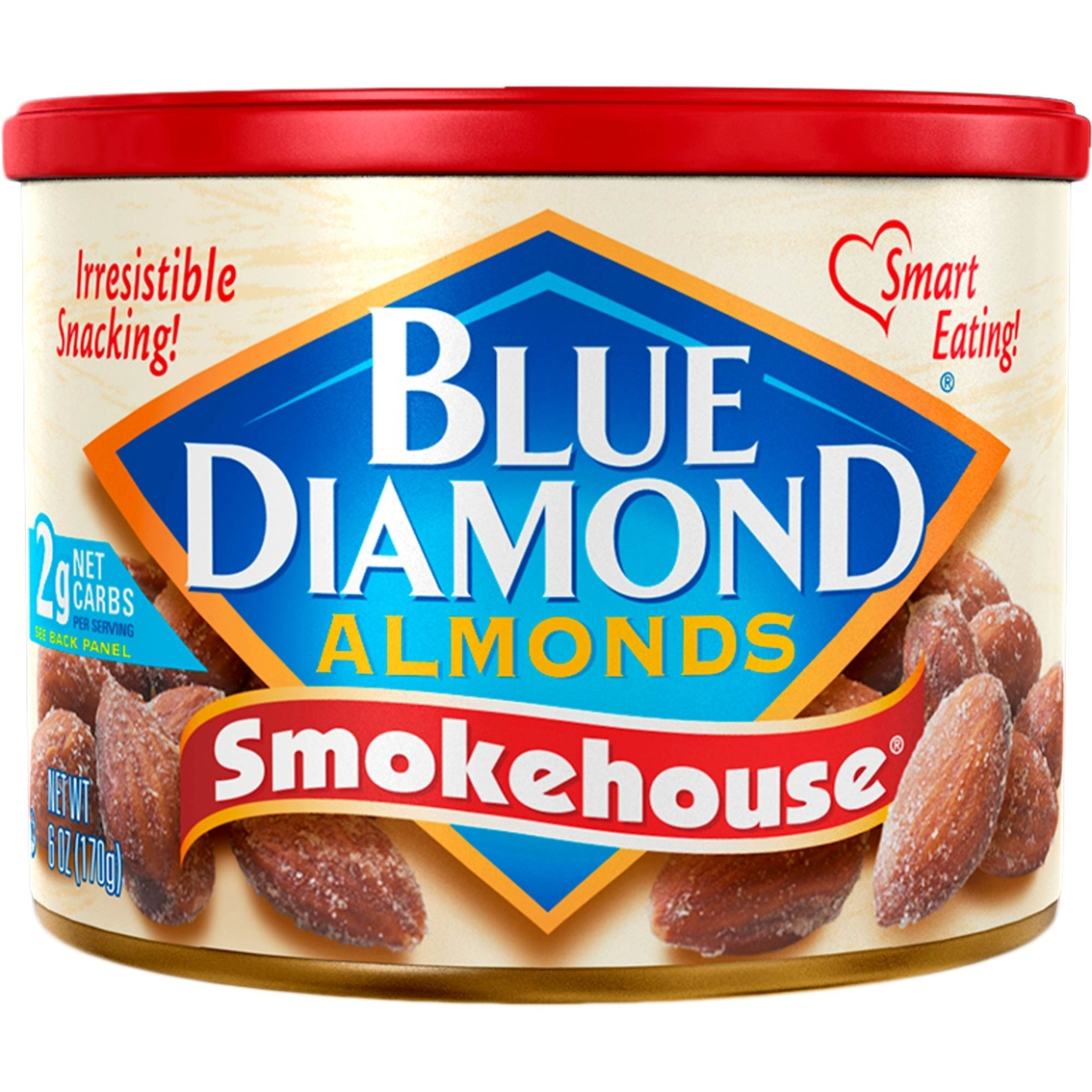 Blue Diamond Almonds Smokehouse 6 oz. Can