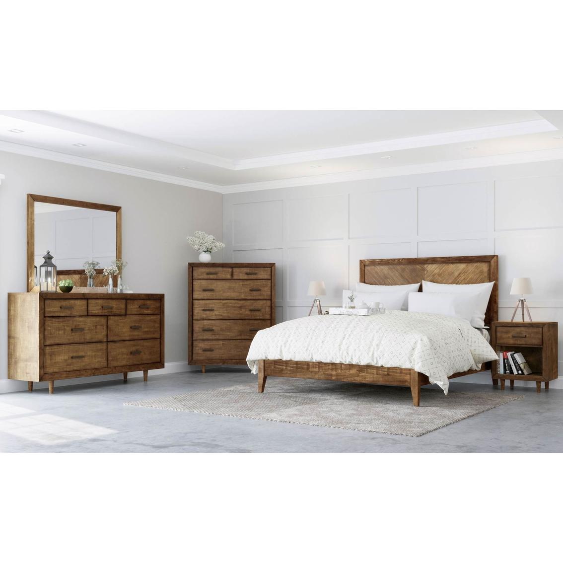 Abbyson Karen Mid Century 6 Pc. Bedroom Set | Bedroom Sets ...